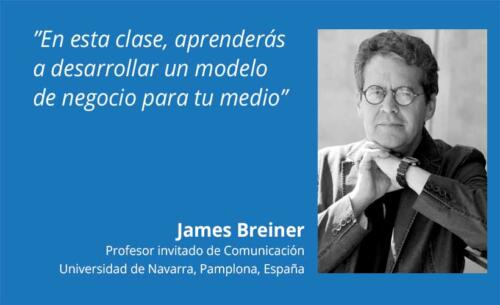 Clase de Como hacer un Business Model Canvas por James Breiner