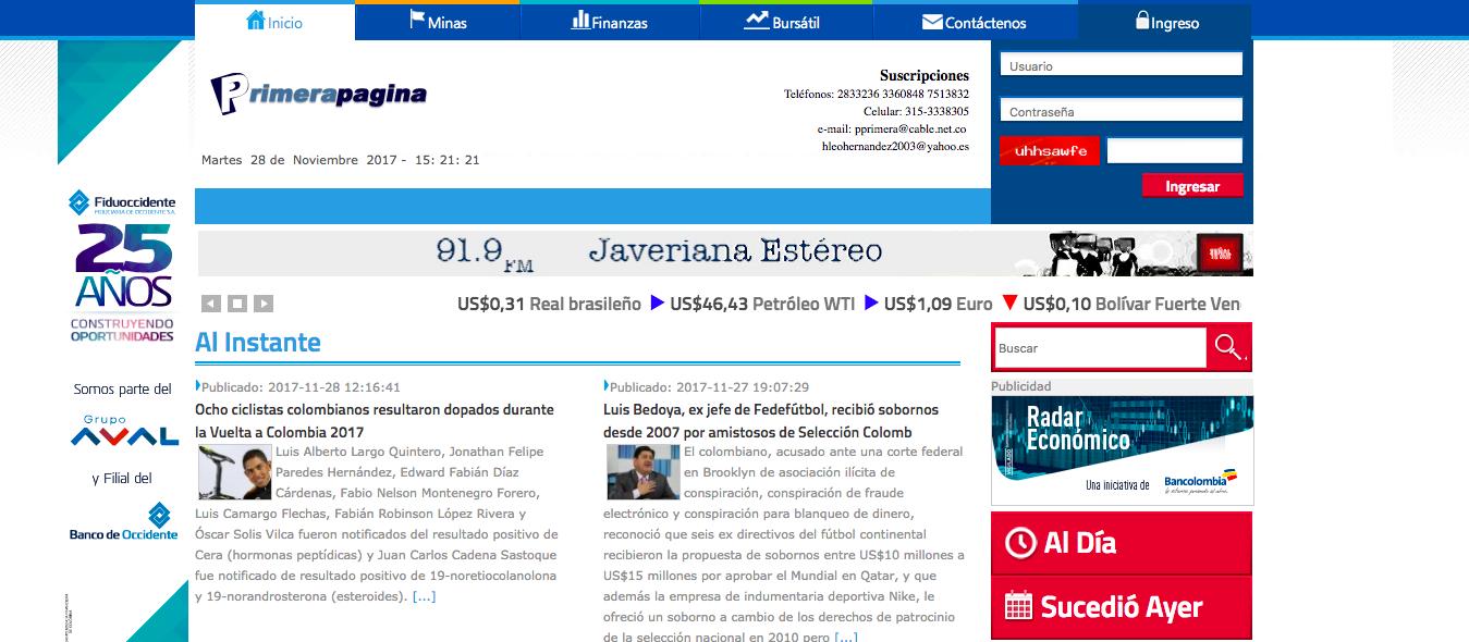Primerapagina.com.co