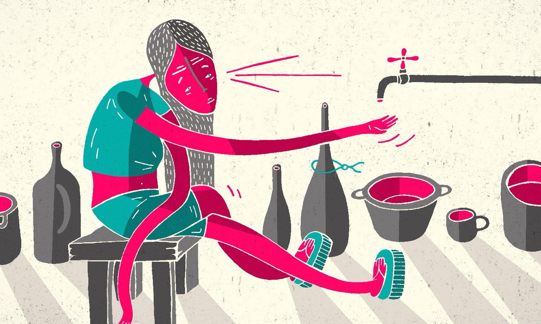 Pozo, de Periodismo de Barrio | Ilustración: Miguel Alejandro Castro