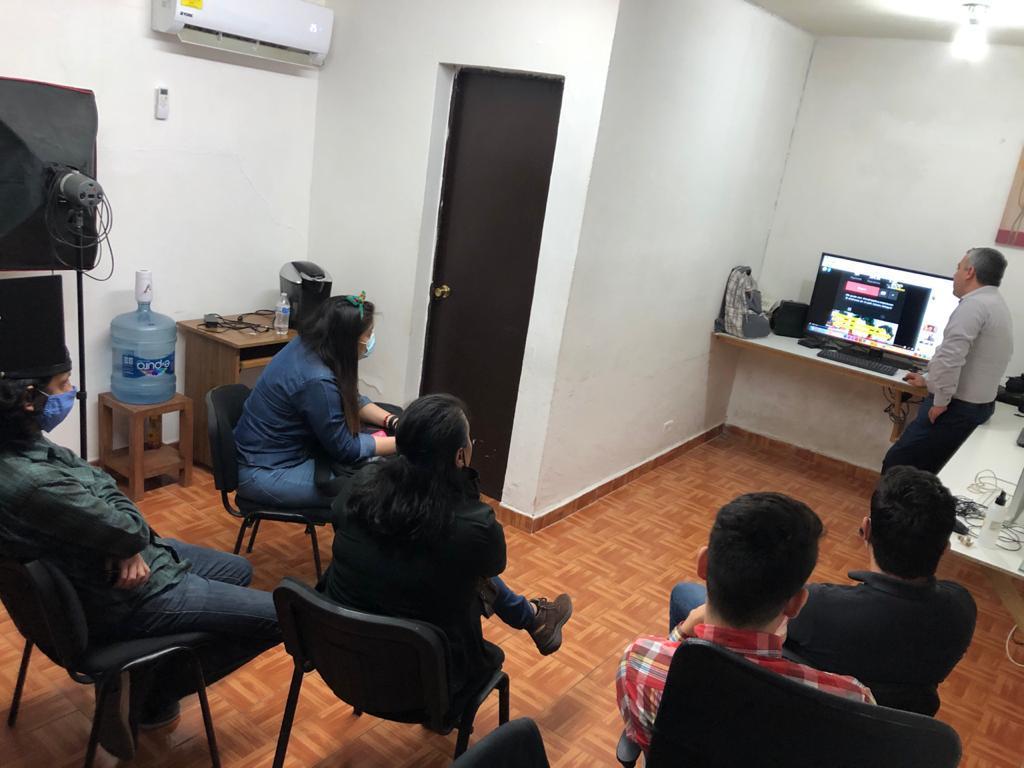 Sesión de trabajo en El Malpensado (Foto cortesía de El Malpensado)