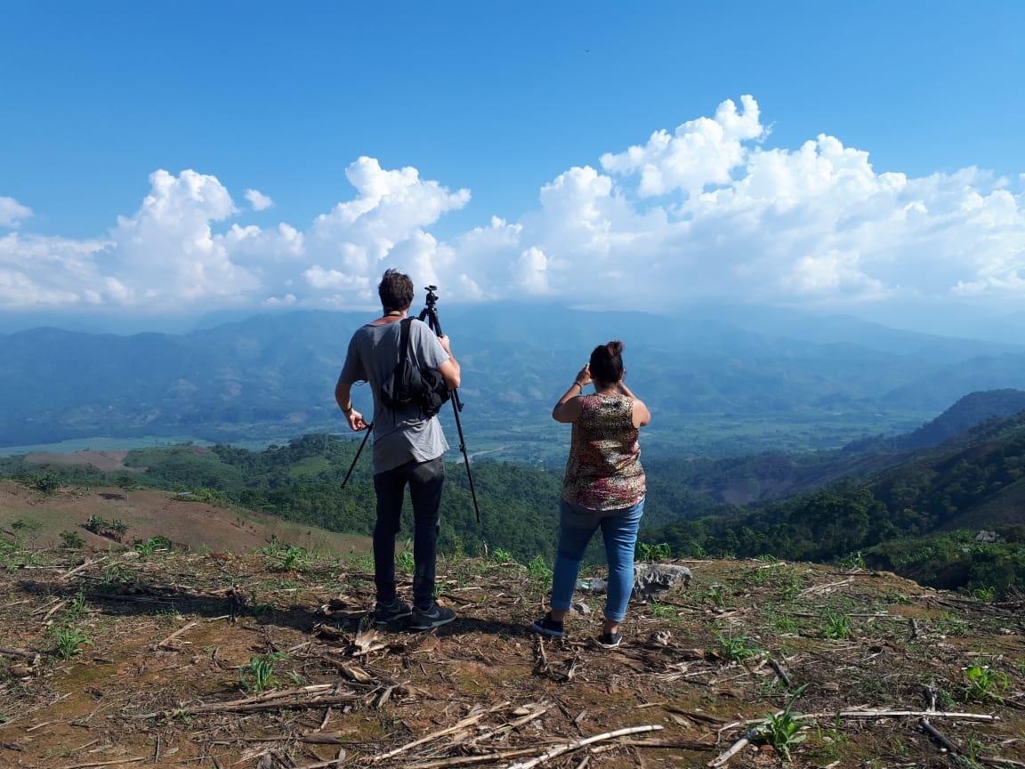 Reporteros de El Intercambio (Foto cortesía de Elsa Cabria)